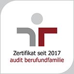 Zertifikat berufundfamilie